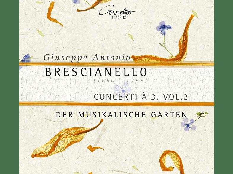 Der Musikalische Garten - Concerti À 3, Vol.2 [CD]