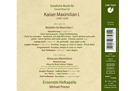 Ensemble Hofkapelle - Geistliche Musik für Kaiser Maximilian I. [CD]