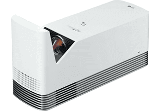 Proyector láser - LG HF85LSR, Smart TV, 80 Pulgadas a 33.6 cm, Full HD, WebOS 4.0, 1500 lúmenes, Blanco