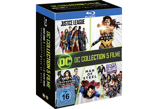 DC 5-Film Collection: Exklusive Limited Edtion (7 Discs) Blu-ray