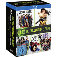 DC 5-Film Collection: Exklusive Limited Edtion (7 Discs) [Blu-ray]
