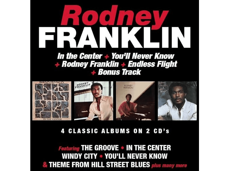 Rodney Franklin - In The Center/...(4 Classic Albums On 2CDs) [CD]