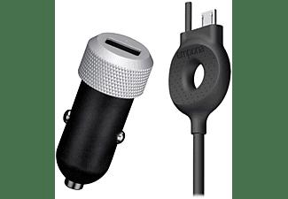 EMPORIA KFZ-Lader inkl. Micro USB Kabel mit Führungsschiene
