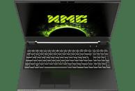 XMG PRO 15 - E19, Gaming Notebook mit 17.3 Zoll Display, Core™ i7 Prozessor, 8 GB RAM, 250 GB SSD, GeForce® RTX™ 2060, Schwarz