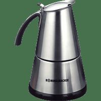 ROMMELSBACHER EKO 364 E Espressokocher Edelstahl/Schwarz