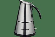 ROMMELSBACHER EKO 366 E Espressokocher Edelstahl/Schwarz