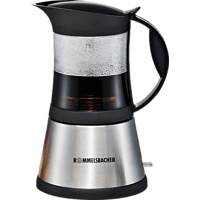 ROMMELSBACHER EKO 376/G Espressokocher Edelstahl/Glas