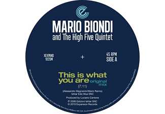 Mario Biondi - This Is What You Are (Original & Opolopo Remix)  - (Vinyl)