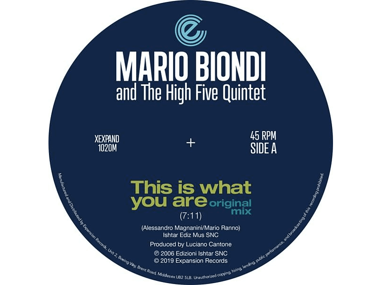 Mario Biondi - This Is What You Are (Original & Opolopo Remix) [Vinyl]