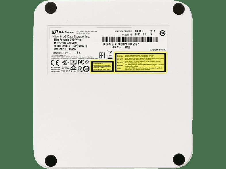 HITACHI-LG GP95NW70 extern DVD Brenner