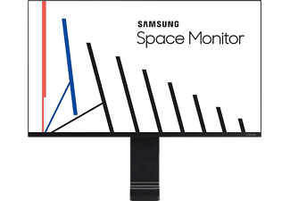 SAMSUNG Gaming Monitor Space S27R750Q, 27 Zoll, schwarz (LS27R750QEUXEN)