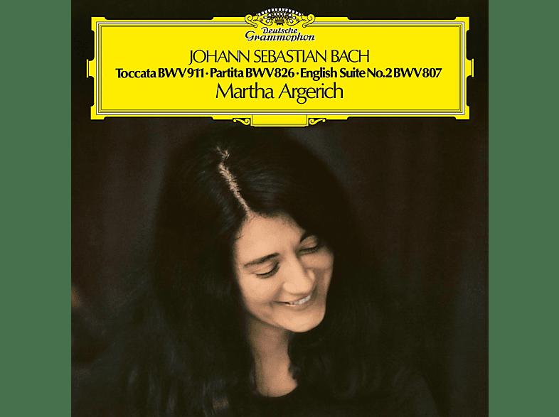 Martha Argerich - Toccata BWV 911,Partita BWV 826,Englische Suite 2 Vinyl