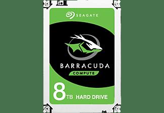 SEAGATE BarraCuda Festplatte Retail, 8 TB HDD SATA 6 Gbps, 3,5 Zoll, intern