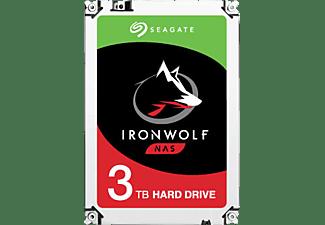 SEAGATE IronWolf Festplatte Retail, 3 TB HDD SATA 6 Gbps, 3,5 Zoll, intern