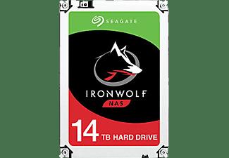 SEAGATE IronWolf Festplatte Retail, 14 TB HDD SATA 6 Gbps, 3,5 Zoll, intern