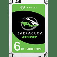 SEAGATE Barracuda, 6 TB HDD, 3.5 Zoll, intern