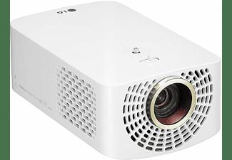 "Proyector - LG HF60LSR, Full HD, Hasta 120"", 1400 lúmenes, Smart TV, Bluetooth, HDMI, USB, Blanco"