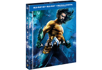 Aquaman (Edición Digibook) - Blu-ray 3D + Blu-ray