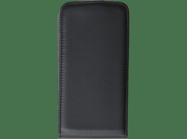 V-DESIGN VKL 0053 , Flip Cover, Samsung, Galaxy S7, Kunstleder, Schwarz