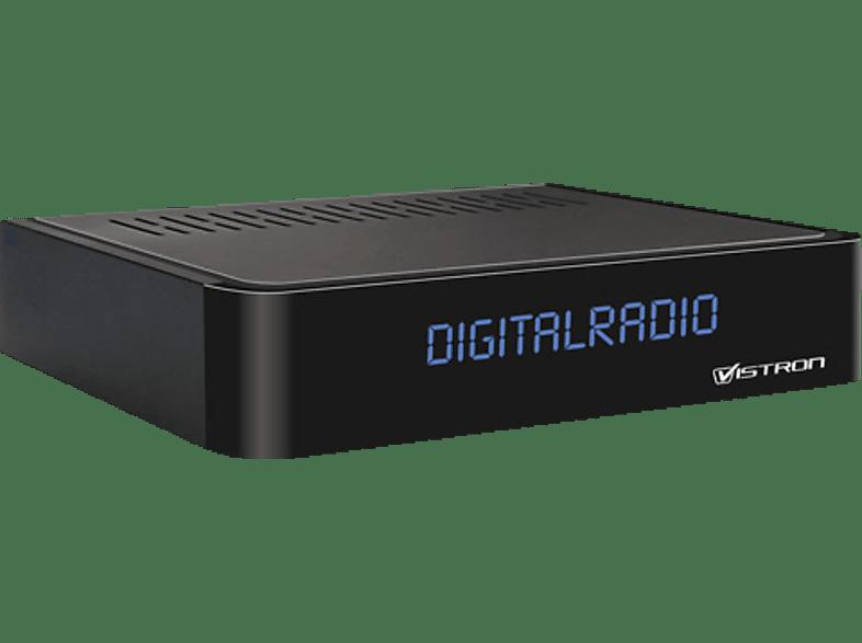 VISTRON VT855-N DVB-C Radio Tuner (Schwarz)