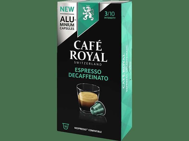CAFE ROYAL Espresso DeCaffeinato Alu Kaffeekapseln (Nespresso)