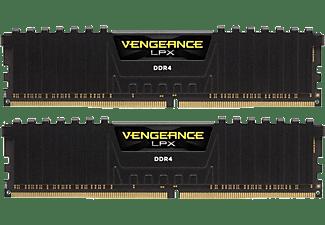 CORSAIR Arbeitsspeicher Vengeance LPX DIMM Kit 16 GB, DDR4-3000, schwarz (CMK16GX4M2D3000C16)