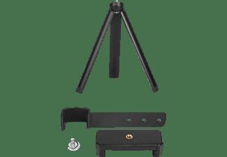 CYTRONIX 401241 DJI Osmo Pocket, Smartphonehalter & Stativ, Schwarz