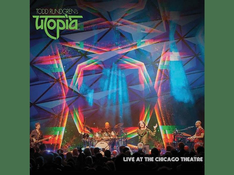Todd Rundgren's Utopia - LIVE AT THE CHICAGO THEATER (GRÜNES VINYL) [Vinyl]