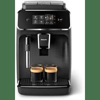PHILIPS Serie 2200 Kaffeevollautomat EP2220/10 mit Kunststoff-Abtropfschale, matt schwarz