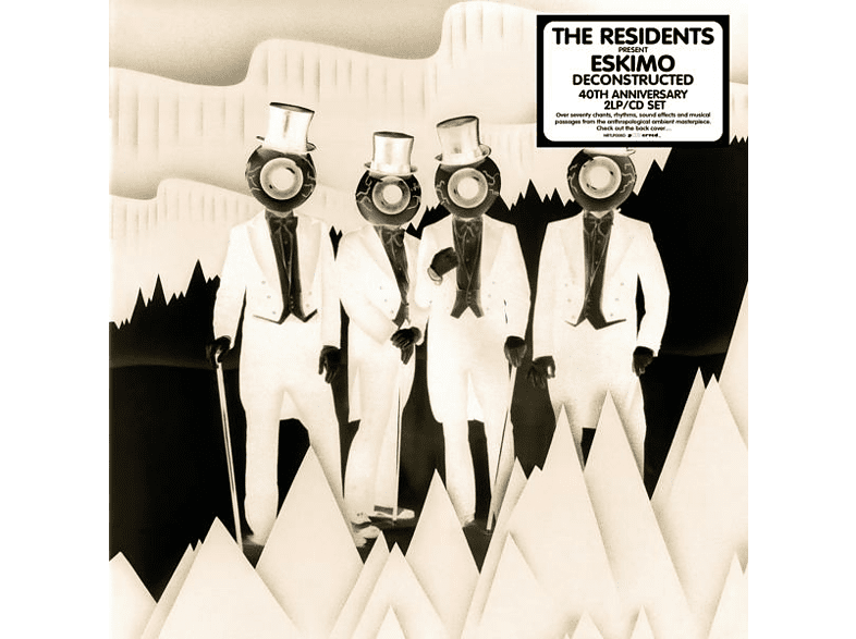 The Residents - Eskimo Deconstructed-40th Anniversary (2LP+CD) [LP + Bonus-CD]