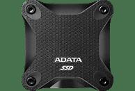ADATA SD600Q externe, 480 GB SSD, NAND Flash, 2.5 Zoll, extern, Schwarz
