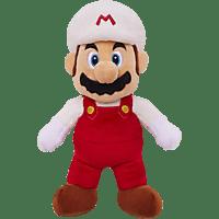 JAKKSPACIFIC Fire Mario Plüsch 20cm Figur, Mehrfarbig