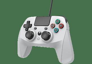 SNAKEBYTE Gamepad 4 S mit 3 m Kabel Controller} Grau