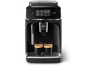 PHILIPS Serie 2200 Kaffeevollautomat EP2221/40, klavierlack-schwarz