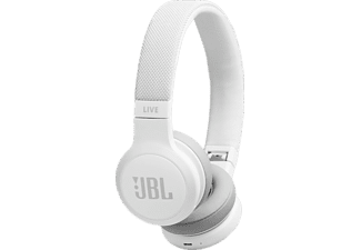 JBL Bluetooth Kopfhörer Live 400 BT On-Ear, weiß