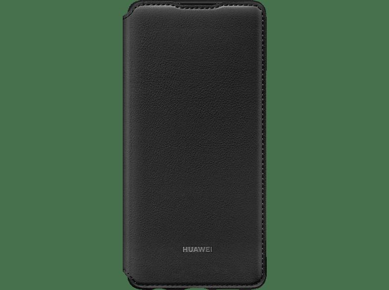 HUAWEI Wallet Cover , Bookcover, Huawei, P30, Kunststoff, Schwarz