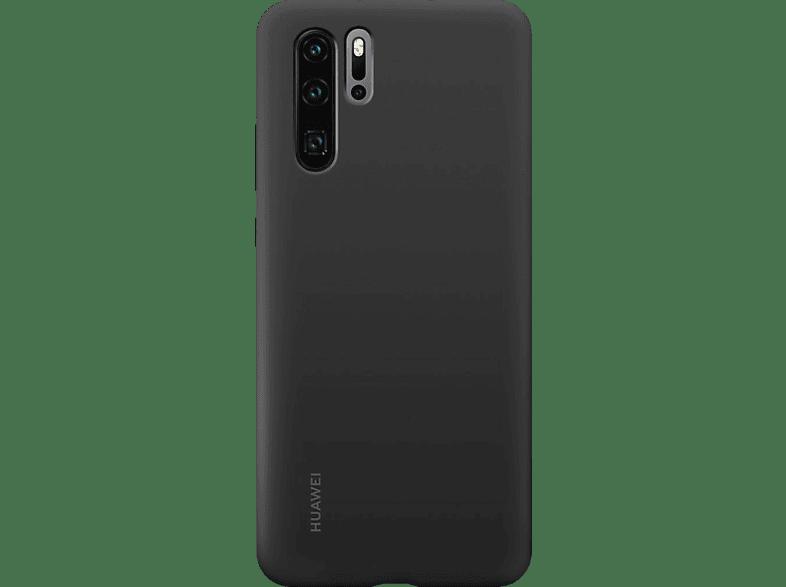 HUAWEI Silicone Case , Backcover, Huawei, P30 Pro, Silikon, Schwarz