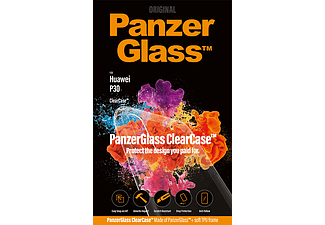 PANZERGLASS ClearCase Huawei P30 Easy Snap on/off Transparant