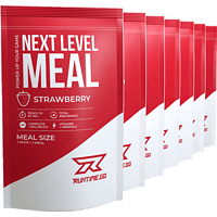 RUNTIME GG Next Level Meal Strawberry Pulver, Weiß
