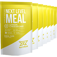 RUNTIME GG Next Level Meal Lemon-Cheesecake Pulver, Weiß
