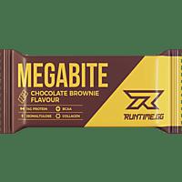 RUNTIME GG Megabite Chocolate Brownie 3er Pack Riegel, Braun