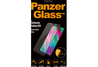 PANZERGLASS Samsung Galaxy A40 Case Friendly Zwart