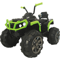 JAMARA KIDS Protector Quad Grün Ride-On Schwarz/Grün