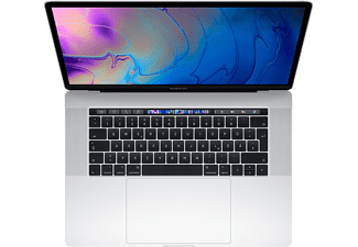"APPLE MacBook Pro (2019) mit Touch Bar - Notebook (15.4 "", 256 GB SSD, Silver)"
