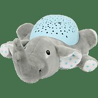 JAMARA KIDS Sternenlicht Elefant Plüschtier, Grau/Blau