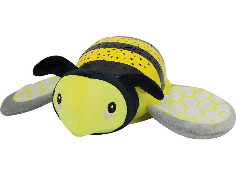 JAMARA KIDS Sternenlicht Biene Plüschtier, Gelb/Schwarz