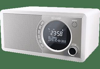 SHARP DR-450 Digitalradio, DAB+, DAB, FM, Bluetooth, Weiß