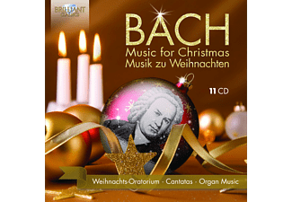 Artistes divers - Bach: Music For Christmans / Musik zu Weihnachten CD