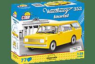COBI Bausatz - Wartburg 353 Tourist (77 Teile) Bausatz, Gelb