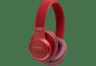 JBL Bluetooth Kopfhörer Live 500 BT Over-Ear, rot